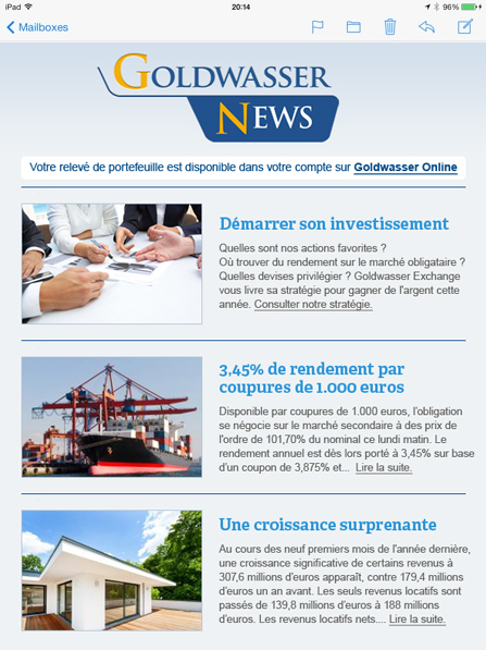 promotion newsletter sample